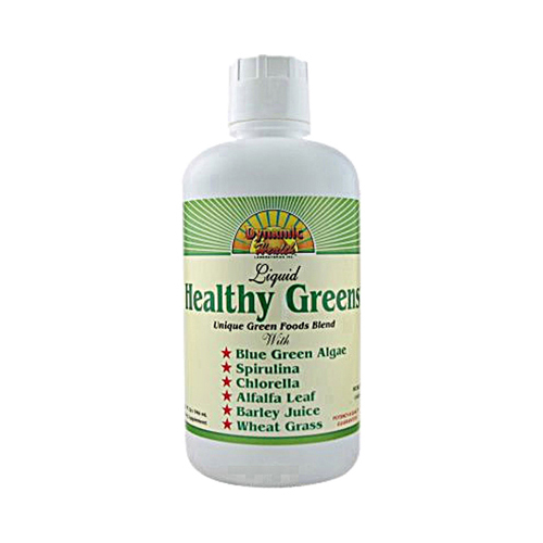 Dynamic Health Healthy Greens Liquid - 32 fl oz