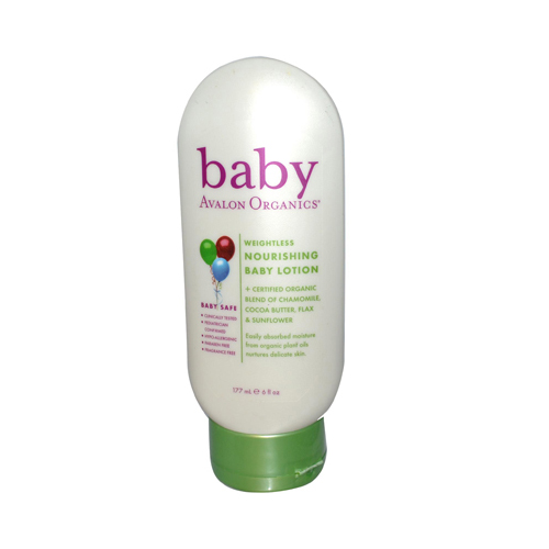 Avalon Organics Nourishing Baby Lotion - 6 oz