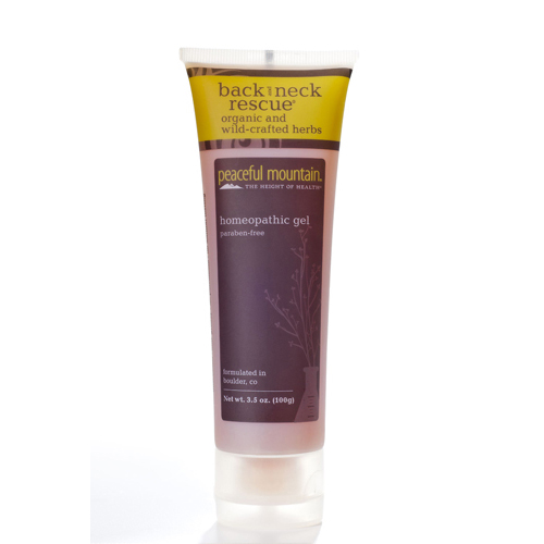 Peaceful Mountain Back And Neck Rescue Gel - 3.7 oz