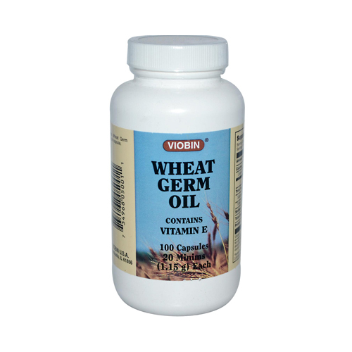Viobin Wheat Germ Oil - 1.15 g - 100 Capsules