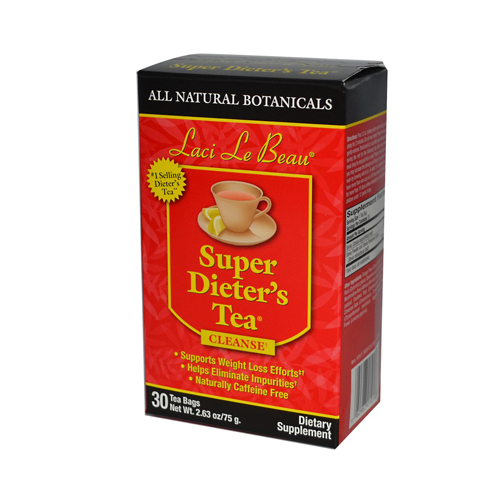 Laci Le Beau Super Dieter's Tea All Natural Botanicals - 30 Tea Bags