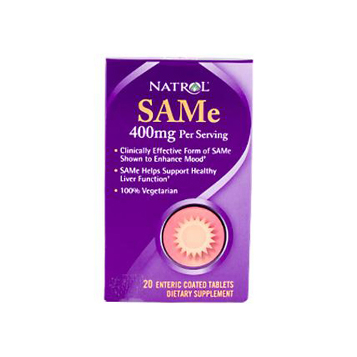 Natrol SAMe - 200 mg - 20 Tablets