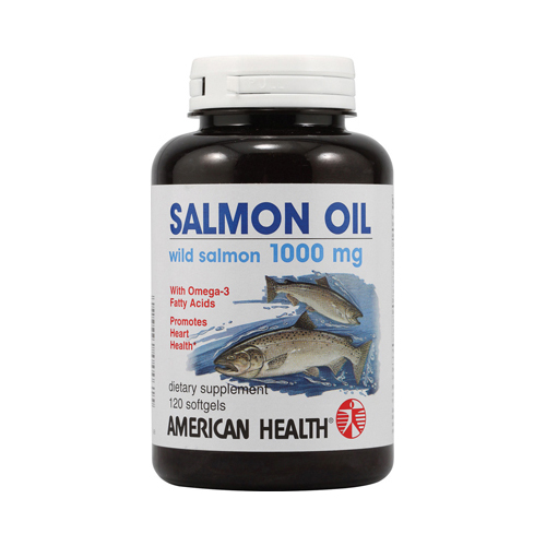 American Health Salmon Oil - 1000 mg - 120 Softgels