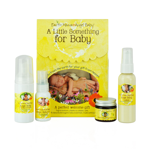 Earth Mama Angel Baby Little Something For Baby Welcoming Gift Kit