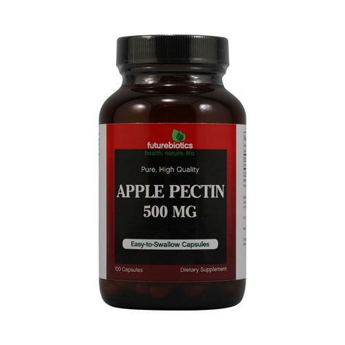 FutureBiotics Apple Pectin - 500 mg - 100 Capsules