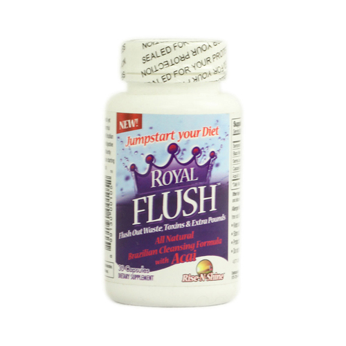 Rise-N-Shine Royal Flush - 30 Capsules