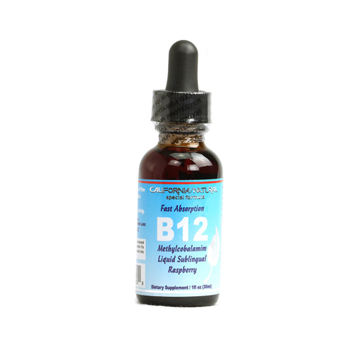 California Natural B12 Liquid Raspberry - 1 fl oz