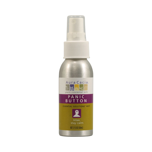 Aura Cacia Essential Solutions Mist Panic Button - 2 fl oz
