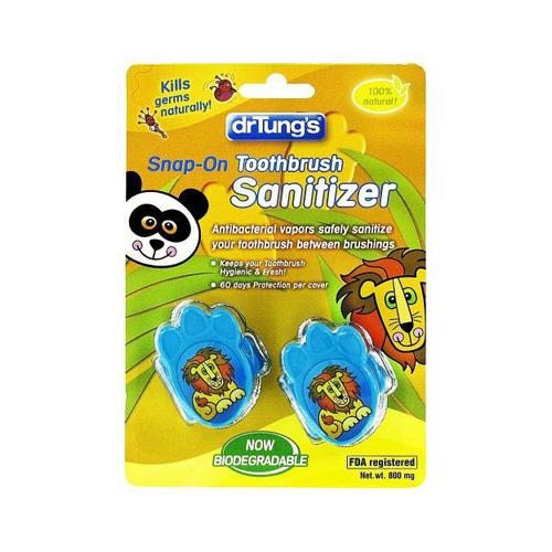 Dr. Tung's Kid's Toothbrush Sanitizer - Case of 12 - 2 Packs