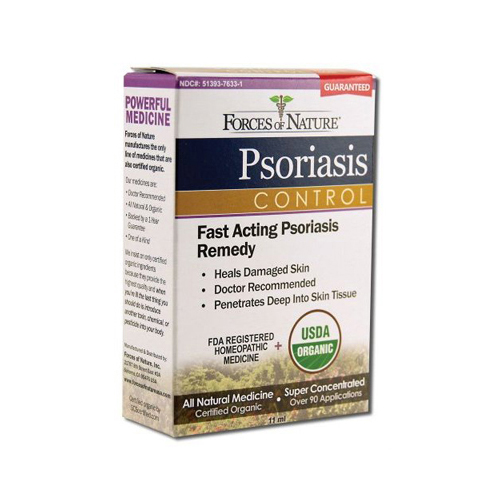 Forces of Nature Organic Psoriasis Control - 11 ml