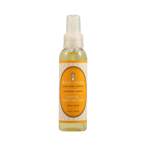 Deep Steep Dry Oil Body Spritzer Tangerine Melon - 4 fl oz