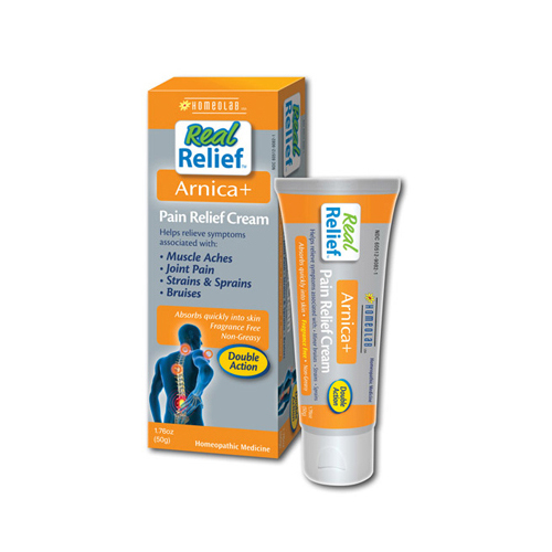 Homeolab USA Real Relief Arnica Pain Relief Cream - 1.76 oz