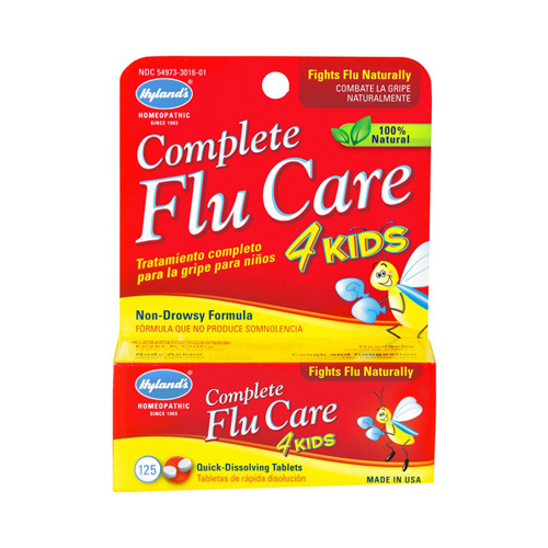 Hylands Homeopathic Complete Flu Care 4 Kids - 125 Tablets