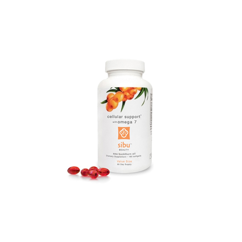 Sibu International Sea Buckthorn Oil Cellular Support with Omega 7 - 180 Softgels