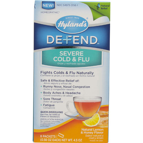 Hylands Homeopathic Defend - Severe Cold and Flu - 4.5 oz