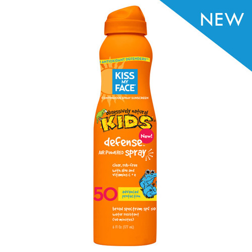 Kiss My Face Kids Defense Spray - Any Angle Air Power SPF 50 - 6 oz