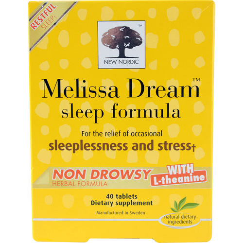 New Nordic Melissa Dream - 40 Tablets