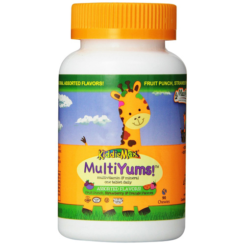 Maxi Health Kosher Vitamins Multivitamin - MultiYums - 90 Chewables