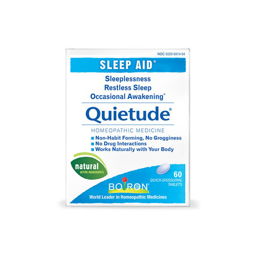 Boiron Quietude Tablets - Restless Sleep - 60 Tablets