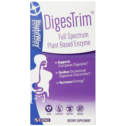 Rightway Nutrition DigesTrim - 90 Capsules