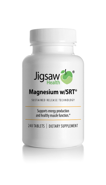 Jigsaw Health Magnesium with Sustained Release Technology