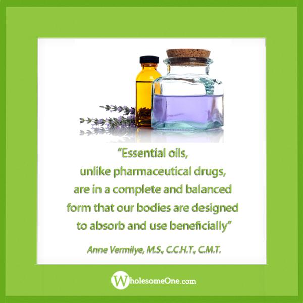 Our bodies are designed to adsorb essential oils.
